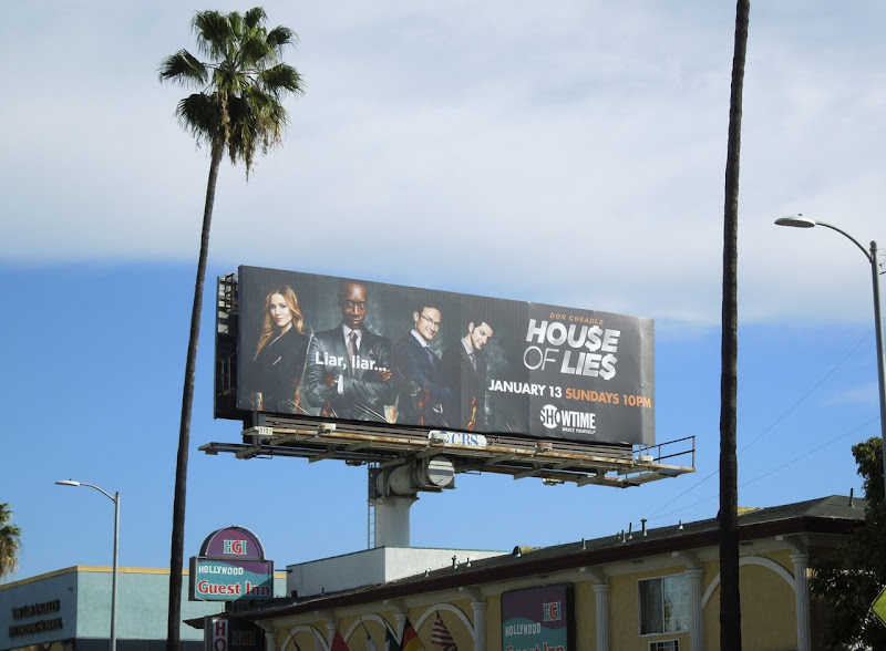 House of Lies season 2 billboard