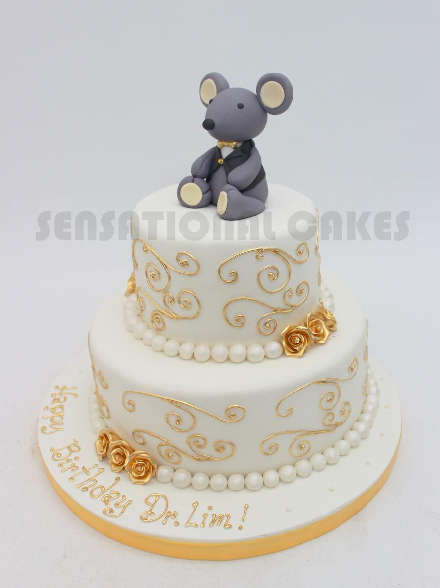 The Sensational Cakes: MOUSE MICE BIRTHDAY CAKE SINGAPORE 2 TIER ...