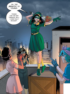 Alysia Yeoh becomes a member of the Batgirls in DC Comics Bombshells #19