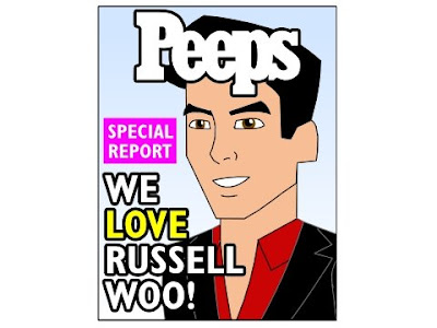 Mr. Chan's rival, celebrity restaurateur Russell Woo!