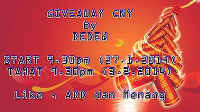 http://najihah90.blogspot.com/2014/01/giveaway-cny-by-dedeq.html