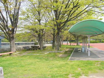 大阪府・万博記念公園 ベンチ