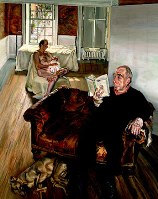 Lucian Freud - Grand Interior, Notting Hill