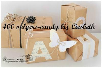 Verrassings candy bij Liesbeth