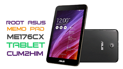 Cara Root Asus MeMo Pad ME176CX Tablet