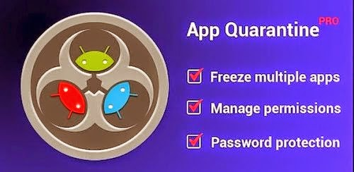 App Quarantine Pro ROOT/FREEZE 3.0 BETA 5.1 APK