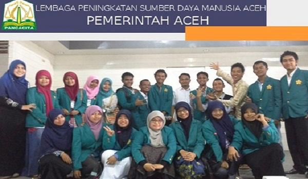 DINAS LPSDM PEMERINTAHAN ACEH : BEASISWA S2 DAN S3 LUAR NEGERI - ACEH, INDONESIA