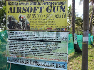 Airsoft Gun Pulau Tidung