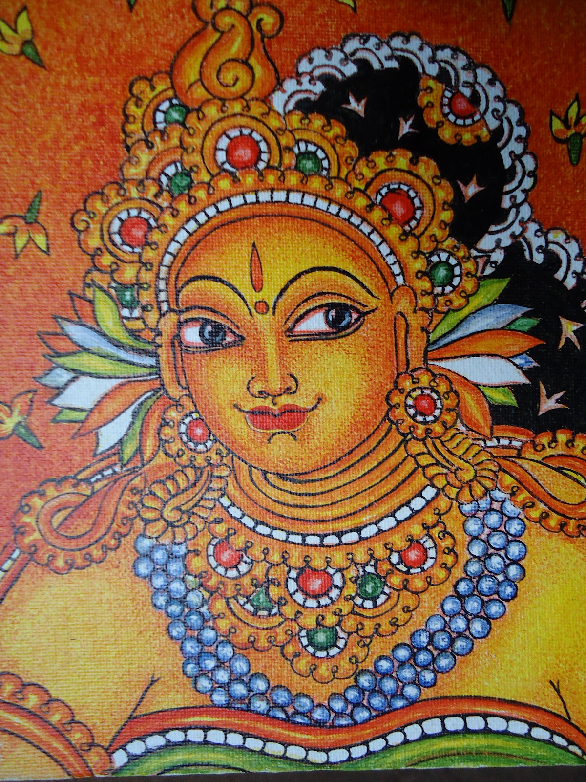 Mural paintings devi muralpainting for Mural painting designs