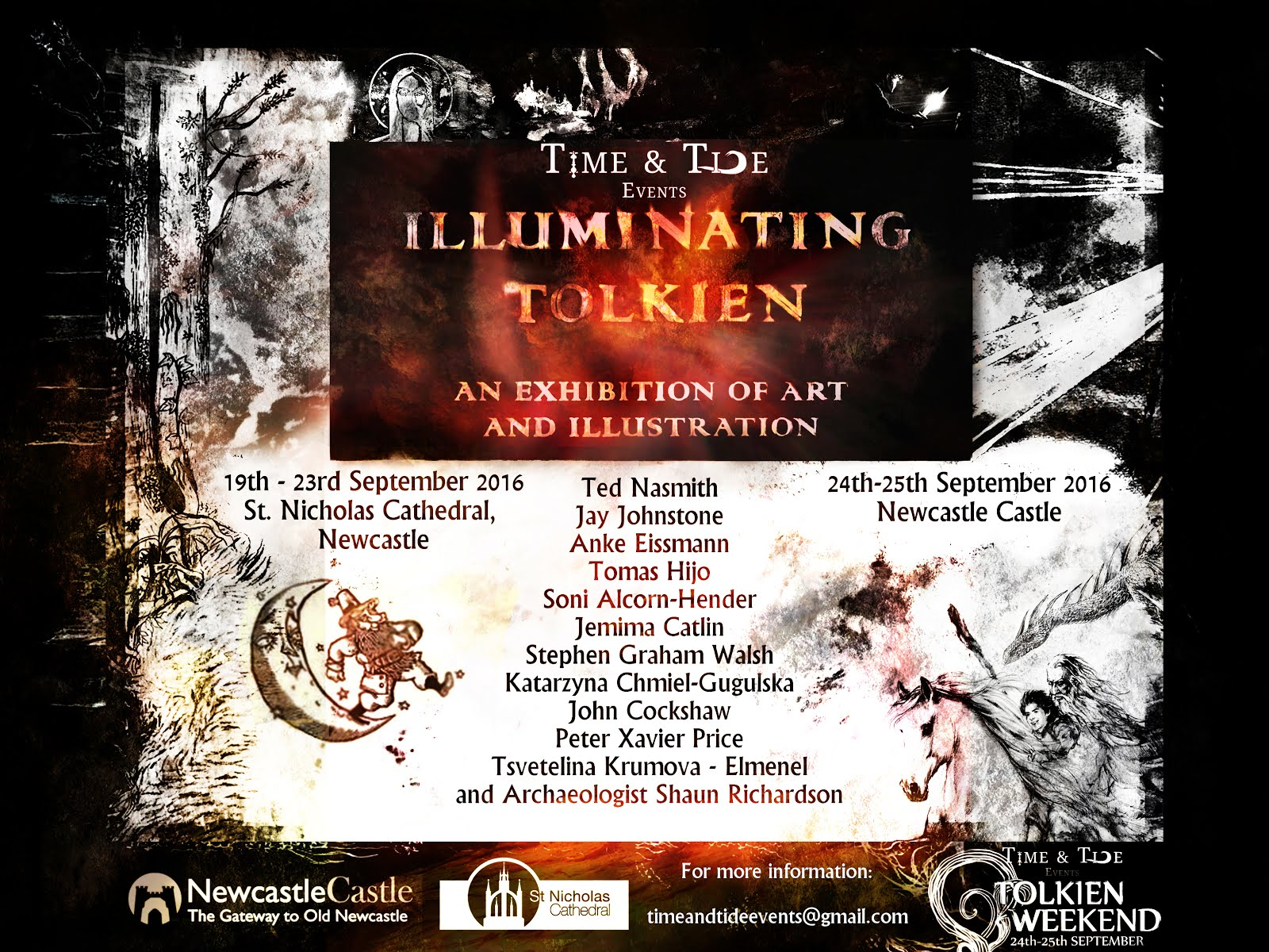 Illuminating Tolkien: an exhibition of Art and illustration