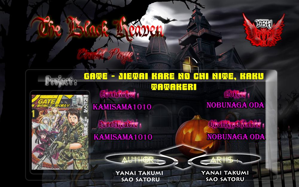 Gate – Jietai Kare no Chi nite, Kaku Tatakeri chap 11 Trang 25 - Mangak.info