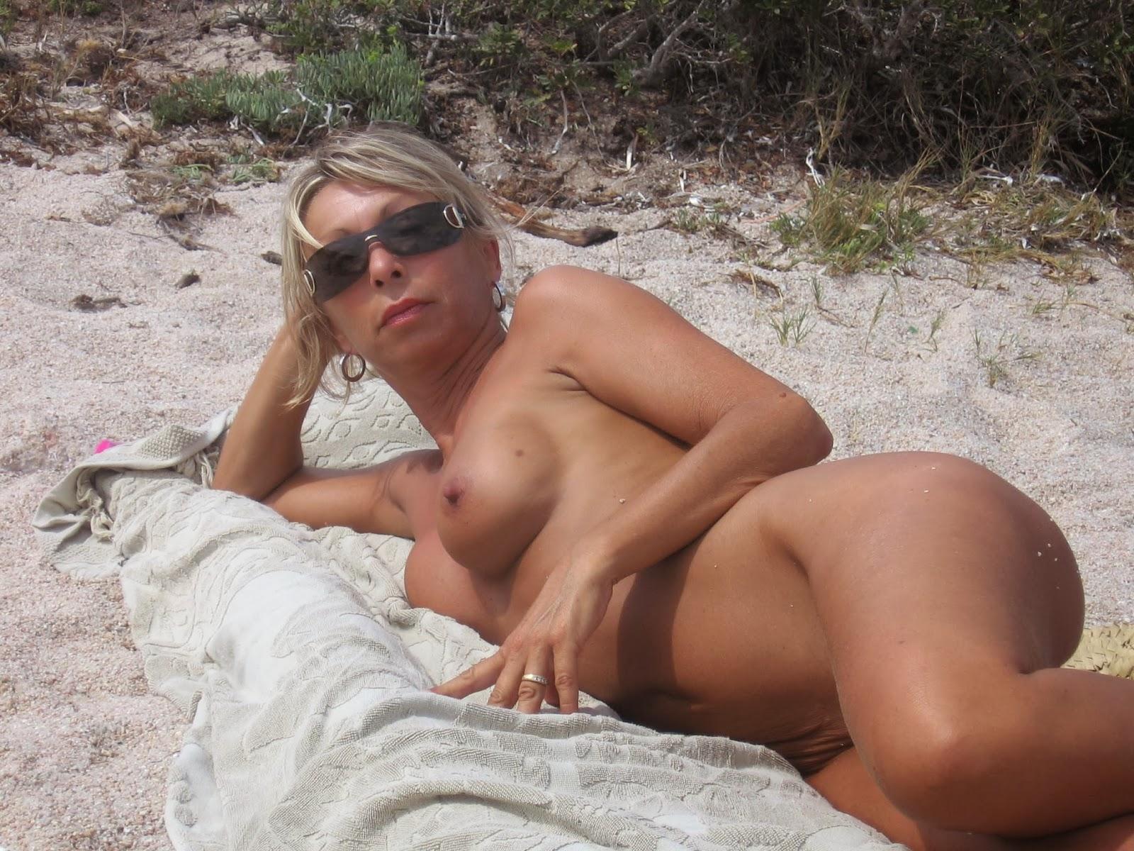 milf beach