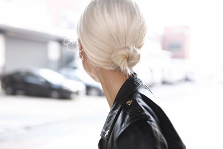 The haute Pursuit low bun