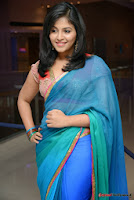 actress anjali hot saree photos at masala telugu movie audio launch+(47) Anjali Saree Photos at Masala Audio Launch