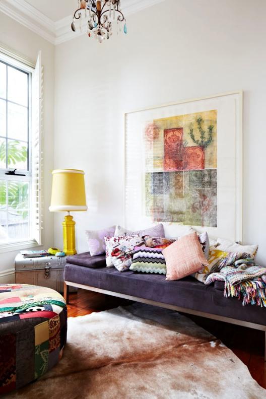 puf tapizado batik