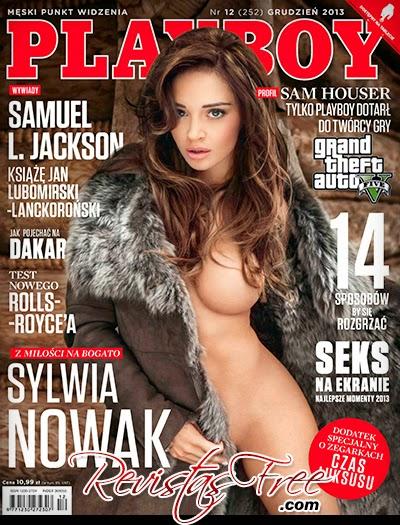 Sylwia Nowak - Playboy Poland - Dezembro 2013