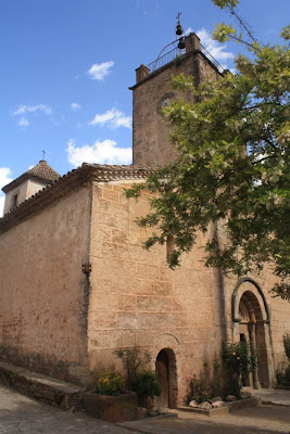 Sant Marti romanesque church in Mura