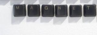 Bikin MAGNET Pintu KULKAS dari Keyboard Bekas