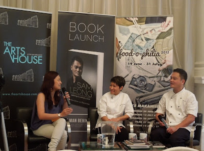 "Sam, Forest Leong, ""The Man behind Modern Chinese Cuisine"", biography book launch, Food-O-Phylia, 2013, Singapore, The Art House, 1 Old Parliament Lane"