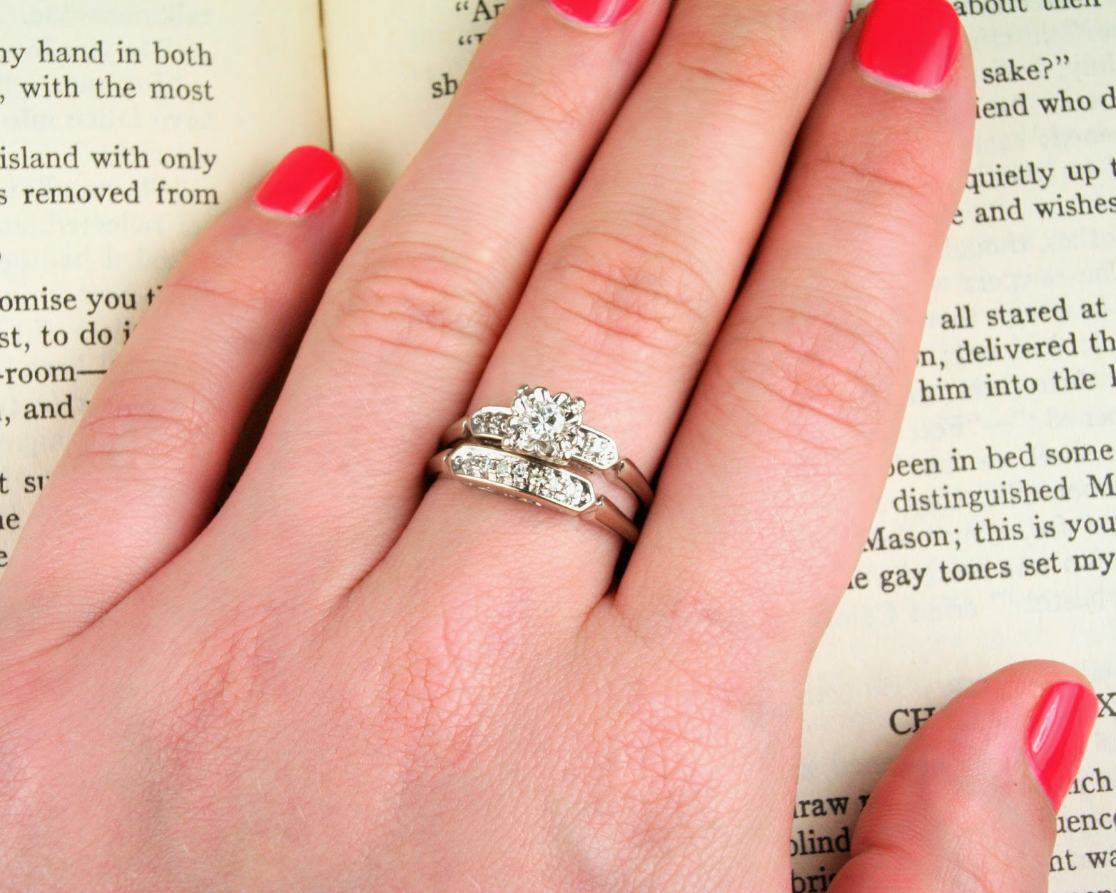 Mix & Match Your Vintage (and New!) Wedding and Engagement Rings ...