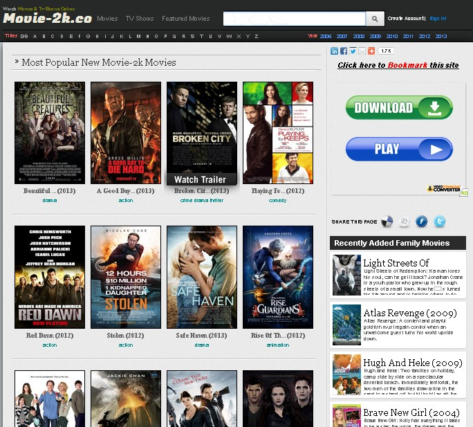 Watch Movies Online Free 2K