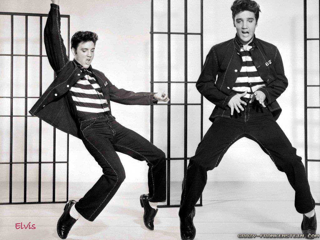 Elvis presley s wild pelvis gyrations were once considered obscene by