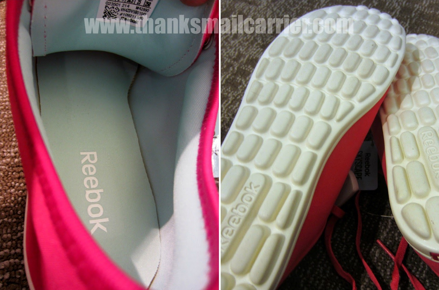 Reebok Skyscape cushion