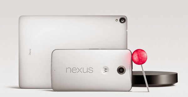 Google ra mắt điện thoại Nexus 6 chạy hệ điều hành Android 5.0 Lollipop