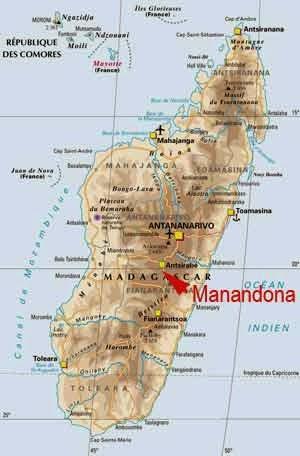 Situation de Manandona