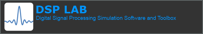 Digital Signal Processing Simulation Software and Toolbox