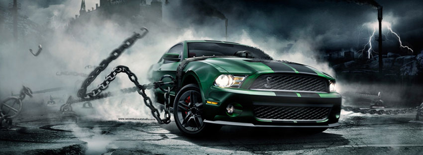 Monster Car latest facebook cover