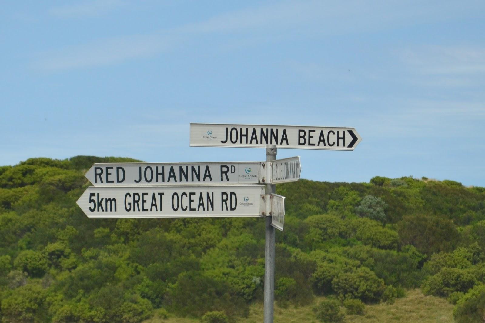 Finding Johanna in Australia