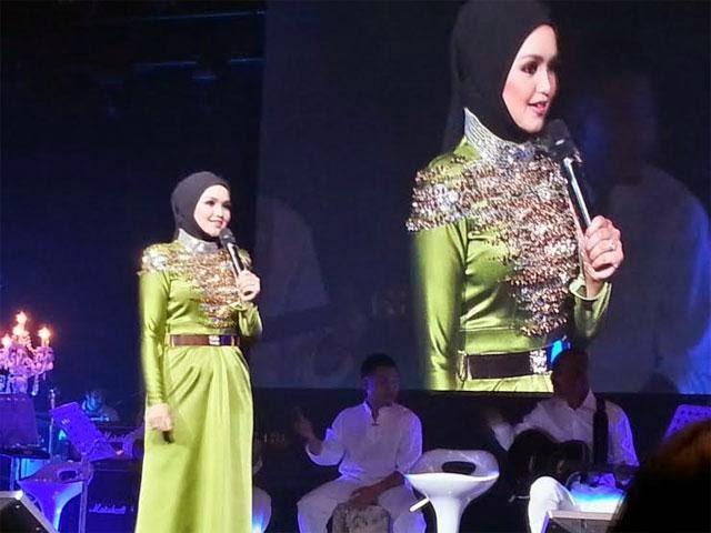Siti Nurhaliza Beraya Di Melbourne Kerana Anak