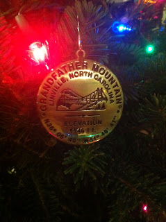 grandfather mountain ornament