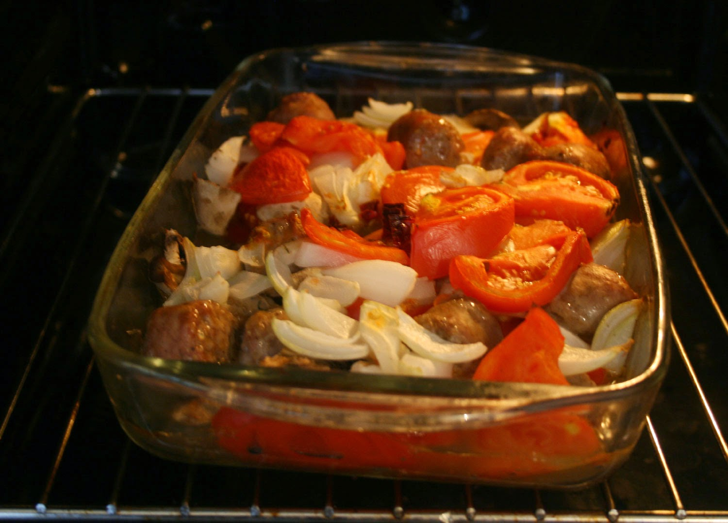 Dinner in the oven