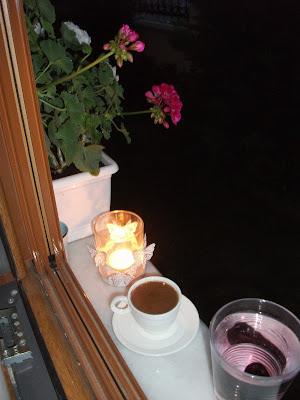 akşam kahvesi