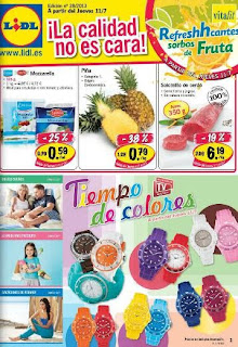 Lidl catalogo de oferta 11 17 julio 2013 for Catalogo lidl granada