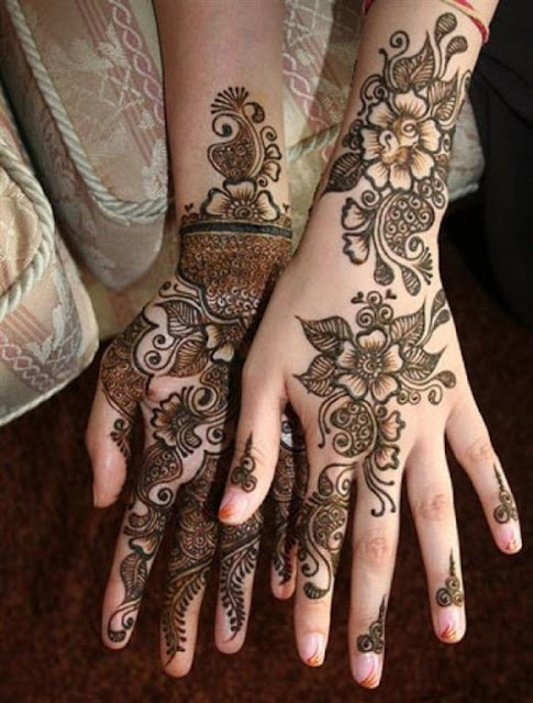 Eid Henna mehndi designs For Hands