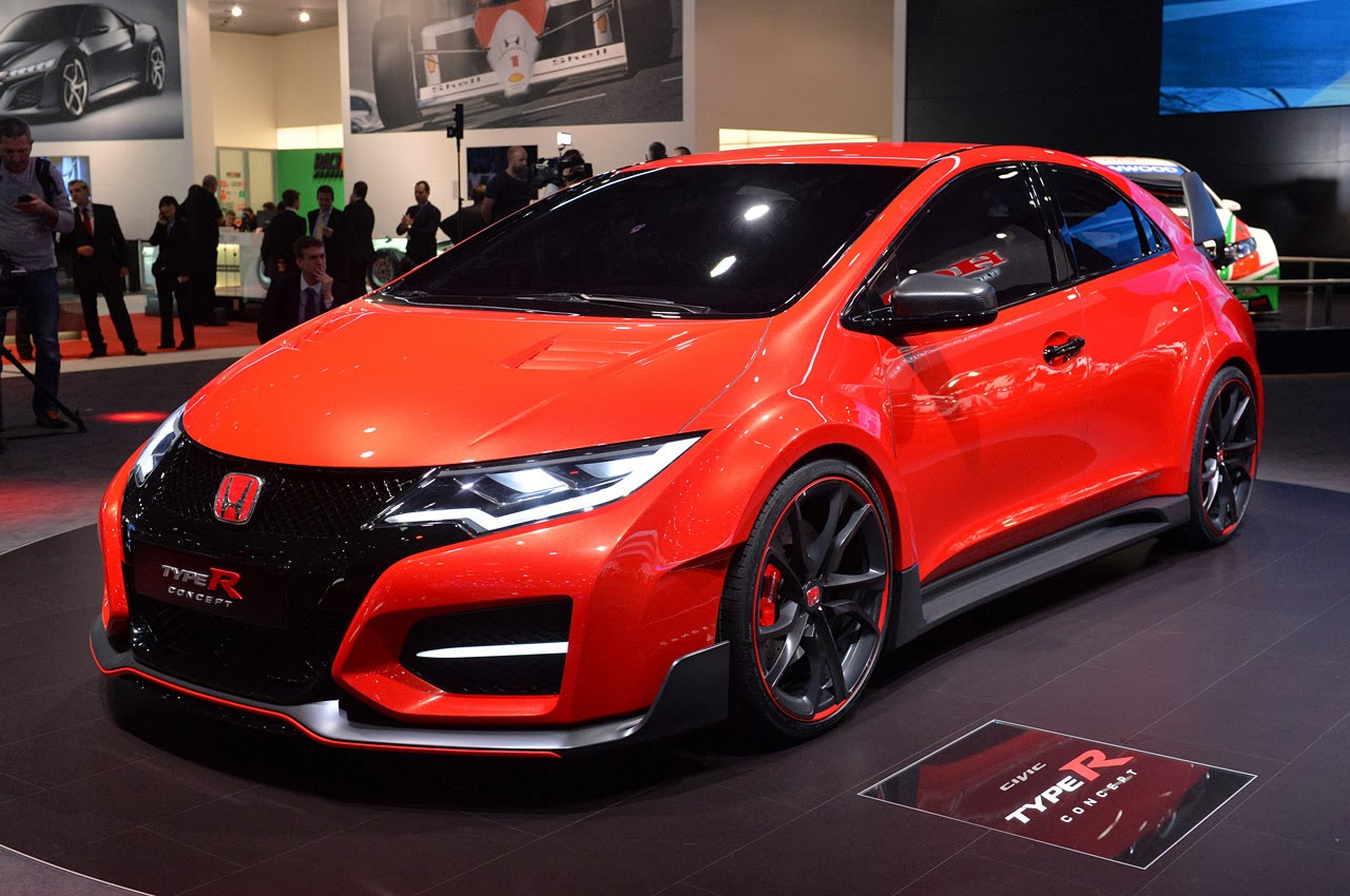 automotiveblogz honda civic type r concept geneva 2014. Black Bedroom Furniture Sets. Home Design Ideas