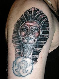 Tatuagem egipcia