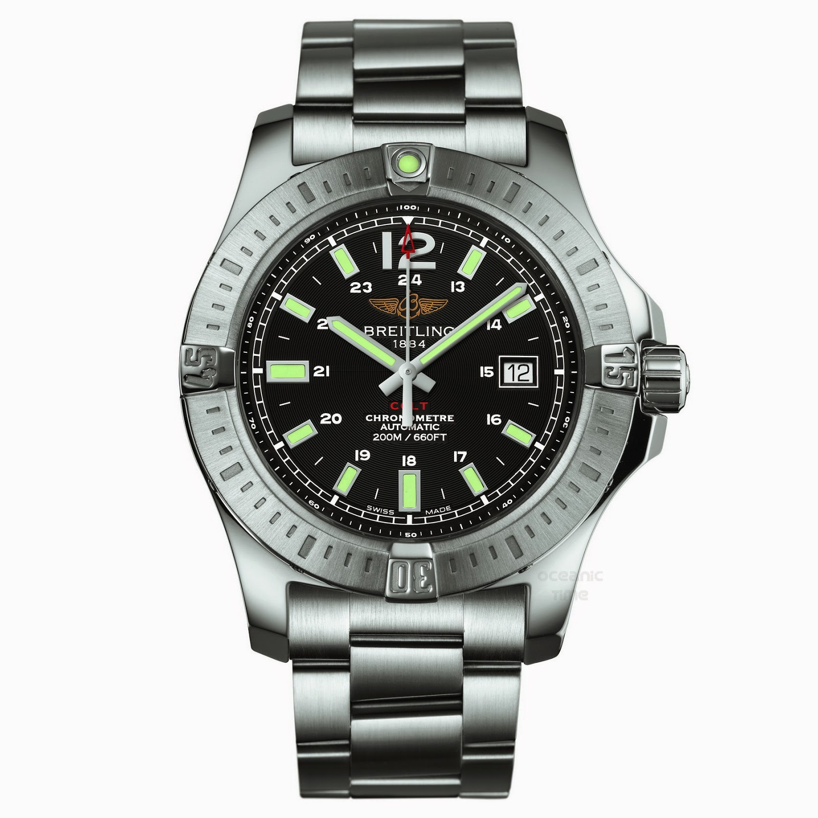 Oceanictime breitling colt auto 2014 for Breitling automatic
