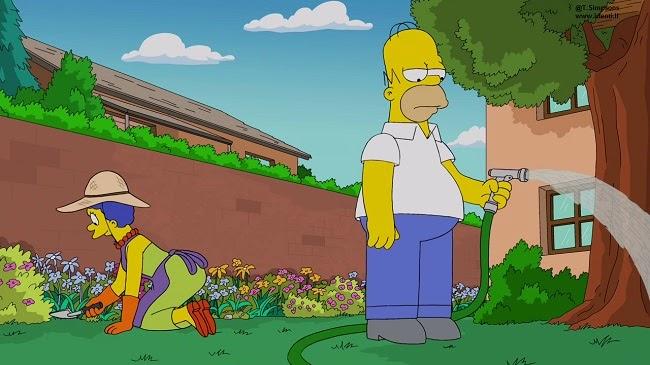 Los Simpsons- Capitulo 15 - Temporada 25 - Audio Latino -  La Guerra del Arte