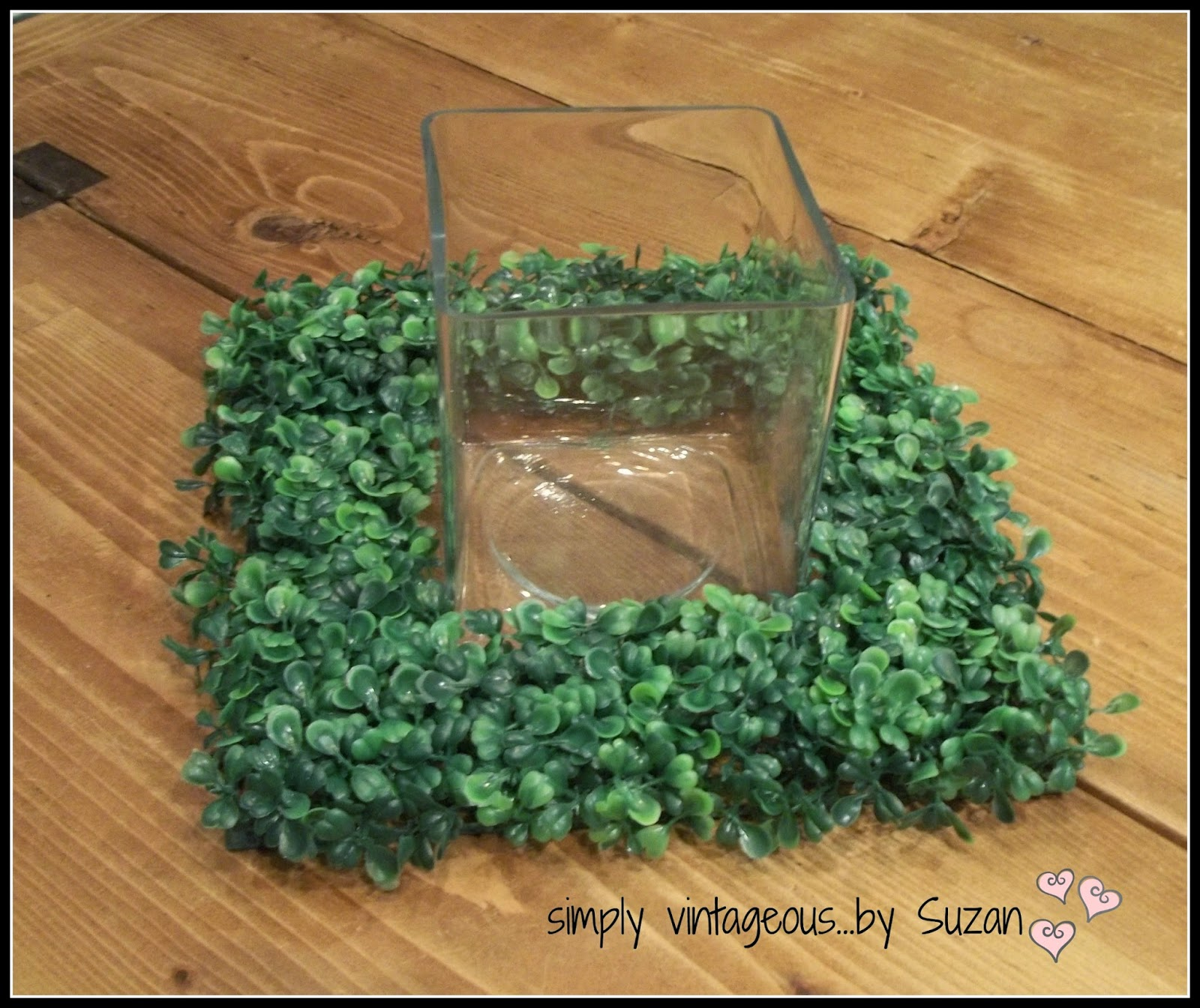 DIY Dollar Store Table Centerpiece