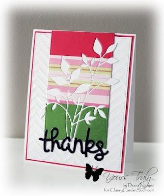 Color Block, Memory Box, Diana Nguyen, Fresh Foliage, Lawn Fawn