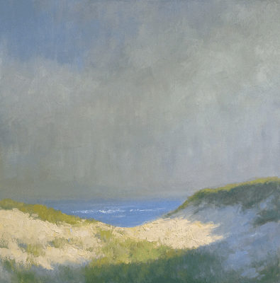 Bayside Morning 24 x 24 inches | oil on canvas | Steve Allrich