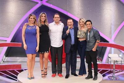 Sheila, Ciça, Carioca, Raul, Antonia e Thammy - Divulgação/SBT