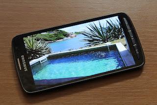 جوال سامسونج جلاكسى s4 أكتيف .. الشاشة اللمسية لا تعمل تحت الماء .