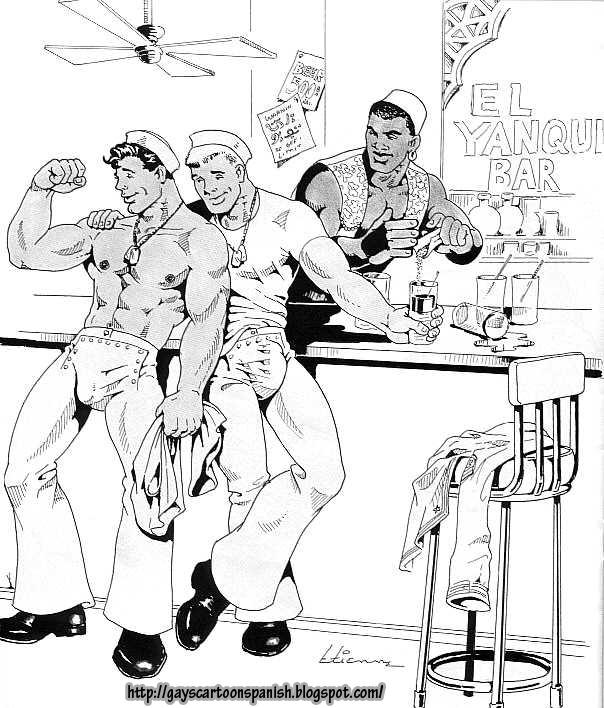 Gays cartoon spanish