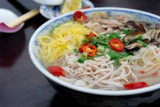 Bún thang - nét tinh tế của ẩm thực Hà Thành