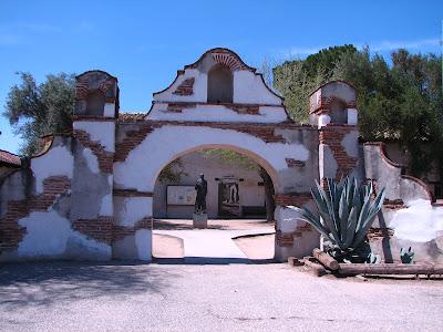 Mission San Miguel Arcángel, San Miguel, CA #California www.thebrighterwriter.blogspot.com